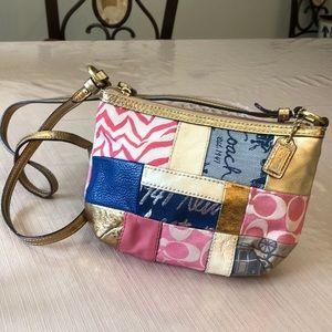 Coach Crossbody Patchwork Bag, Like New!